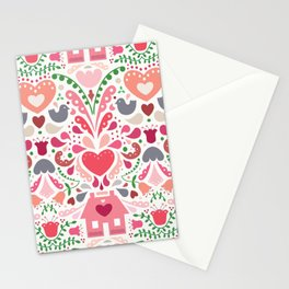Bursting at the Seams Stationery Cards