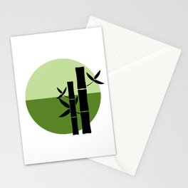 Bamboo on the horizon Stationery Cards