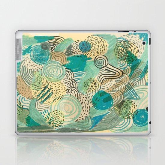 Holidays at the pool Laptop & iPad Skin