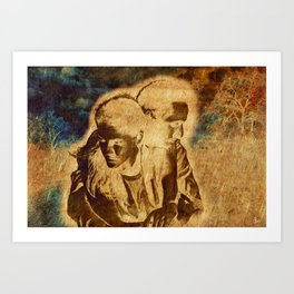 Protection Art Print