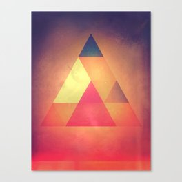 3try Canvas Print