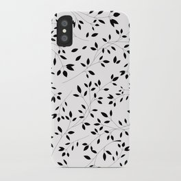 Leaves and Branches iPhone Case