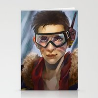 pilot Stationery Cards featuring Pilot by Shoko Lam