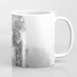 Trees on a Misty Morning Coffee Mug