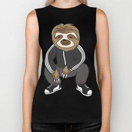 Cute Sloth Squatting Like A Slav Biker Tank