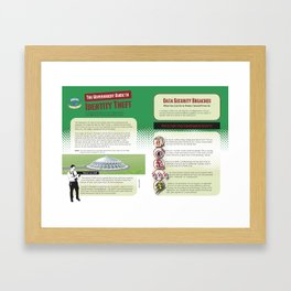 Data Security: What You Need to Know Framed Art Print