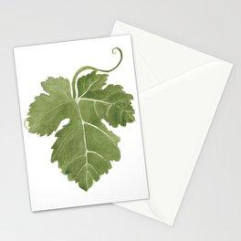 Grape Leaf Stationery Cards