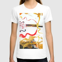 Immersed in Bach Partitas    by Kay Lipton T-shirt