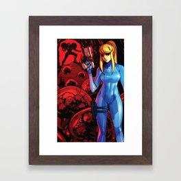 Zero Mission Framed Art Print