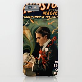 Vintage poster - Thurston the Magician iPhone Case