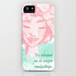 Your smile iPhone Case