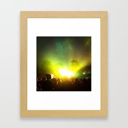 OUTSIDE LANDS II Framed Art Print