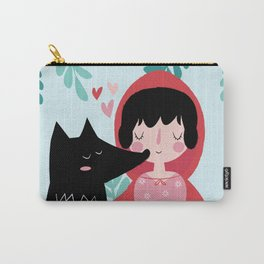Red Riding Hood and the Wolf Carry-All Pouch