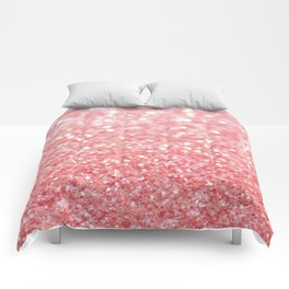 pink sparkle Comforters