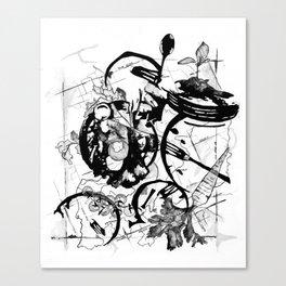 Memories of Food Canvas Print