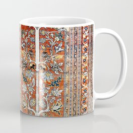 Silk Tabriz Northwest Persian Rug Print Coffee Mug