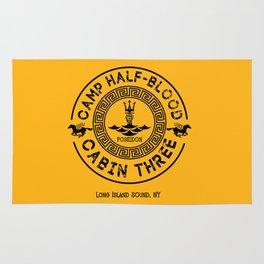 Percy Jackson - Camp Half-Blood - Cabin Three - Poseidon Rug