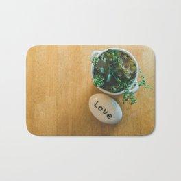 Organic Love Bath Mat