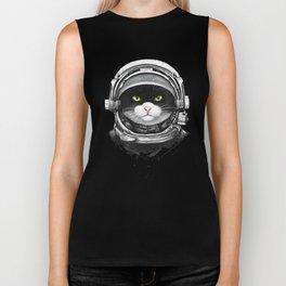 Cosmic cat Biker Tank