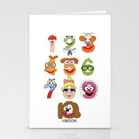 muppet Stationery Cards featuring Muppet Babies Numbers by Mike Boon