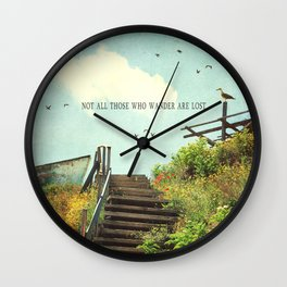 The Lost Cloud Wall Clock