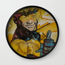 Booster Gold Wall Clock