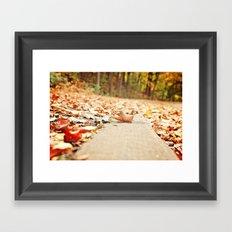 Fall & Beauty 1 Framed Art Print