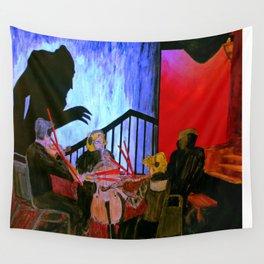 Nosferatu feat. West Edge String Quartet @ Scottish Rite Temple- 24 October, 2013 Wall Tapestry