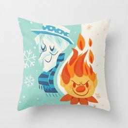 Christmas Nostalgia Throw Pillow