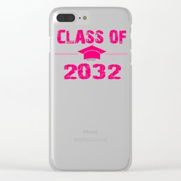 class of 2032 Clear iPhone Case