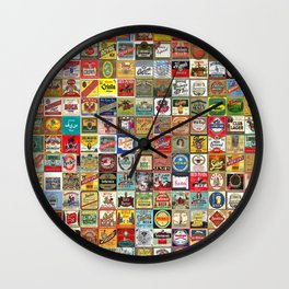 Beer Montage Wall Clock