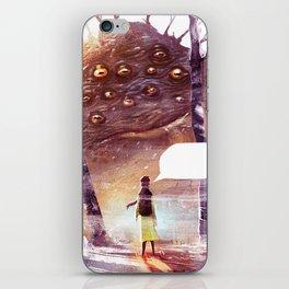 Speachless iPhone Skin