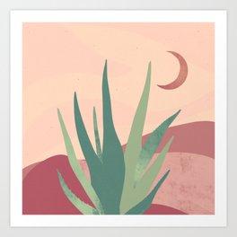 Aloe Trippin' Art Print