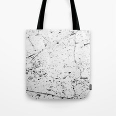 Speckle Marble Print Tote Bag