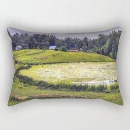 August Pond Rectangular Pillow