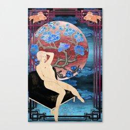 lauren ver.2 Canvas Print