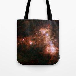 Small Magellanic Cloud, infared Tote Bag