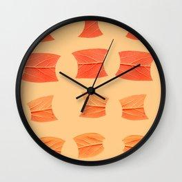 Leaf Bytes Wall Clock