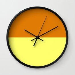 Caramel Custard Wall Clock