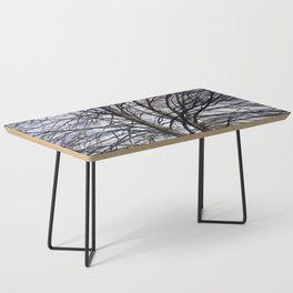 Stained Glass Tree Coffee Table