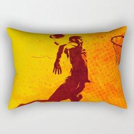 Heat of Basketball#2 Rectangular Pillow