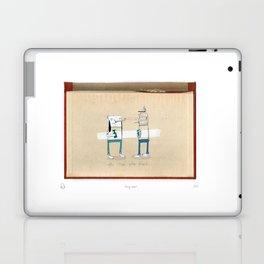 Staring contest Laptop & iPad Skin