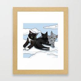 Kittycats Framed Art Print