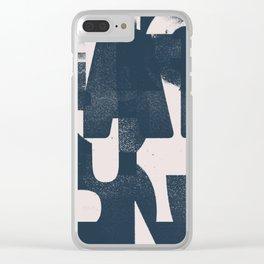 Typefart 006 Clear iPhone Case