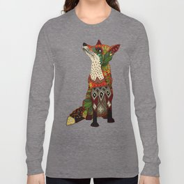 fox love off white Long Sleeve T-shirt