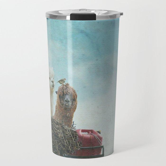 ALPACA WANDERLUST II SUMMER EDITION Travel Mug