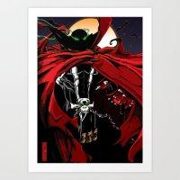 spawn Art Prints featuring Spawn by Shawn Norton Art