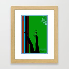 The Chocolate Giant Look Book Poster Series_Leggins Are Not Pants Framed Art Print