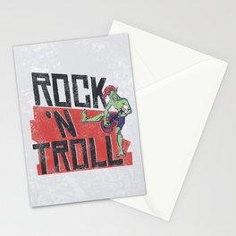 Rock n' Troll Stationery Cards