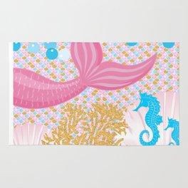 Living a Life as a Mermaid Rug